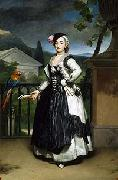 Anton Raphael Mengs Portrait of Isabel Parreno Arce Ruiz de Alarcon y Valdes, Marchioness of Llano oil