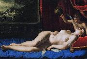 Artemisia gentileschi Dimensions and material of painting oil