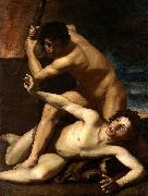 Bartolomeo Manfredi Cain Kills Abel, oil painting reproduction