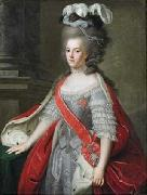 Benjamin Samuel Bolomey Portrait of Wilhelmina of Prussia (1751-1820), Princess of Orange oil painting