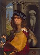 CAPRIOLO, Domenico Self portrait oil
