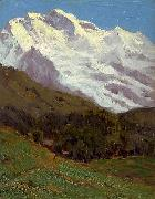 Charles Warren Eaton The Jungfrau oil painting