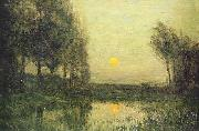 Charles Warren Eaton September Moonrise oil painting