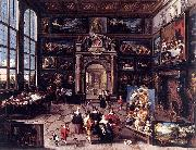 Cornelis de Baellieur Gallery of a Collector oil painting reproduction