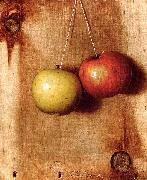 DeScott Evans De Scott Evans: Hanging Apples oil painting
