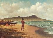 Elizabeth Armstrong Hawaiians at Rest oil