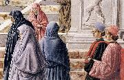 Fra Carnevale The Presentation of the Virgin in the Temple oil