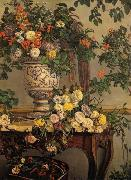 Frederic Bazille Flowers oil