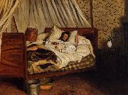 Frederic Bazille Monet after His Accident at the Inn of Chailly oil