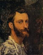 Frederic Bazille Self Portrait oil