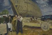 George Bellows Builders of Ships oil painting artist