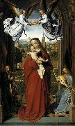 Gerard David Virgin and Child with Four Angels oil painting artist