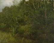 HOFFMANN, Hans Landscape with a pond oil painting artist