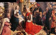 Hugo van der Goes Monforte Altarpiece oil painting artist