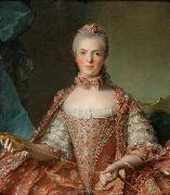 Jean Marc Nattier Madame Adeaide de France Tying Knots oil painting reproduction