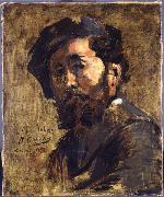 Jean-Baptiste Carpeaux Portrait of Antoine Vollon oil