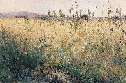 Karl Nordstrom Oat Field Lyron oil painting reproduction