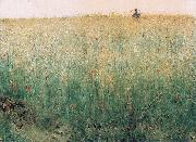 Karl Nordstrom Oat Field Grez oil painting reproduction