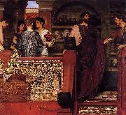 Laura Theresa Alma-Tadema Hadrian Visiting a Romano oil painting reproduction