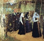 Nesterov, Mikhail Taking the Veil oil painting reproduction