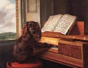 Philip Reinagle Portrait of an Extraordinary Musical Dog oil painting artist