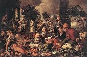 Pieter Aertsen Christ and the Adulteress oil painting artist
