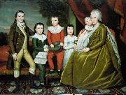 Ralph Earl Earl Ralph Mrs Noah Smith And Her Children oil painting reproduction
