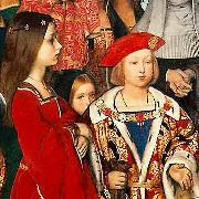 Richard Burchett the future Henry VIII oil painting artist