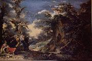 Salvator Rosa Jacob Dream oil painting reproduction