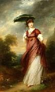 Sir William Beechey Princess Augusta oil painting artist