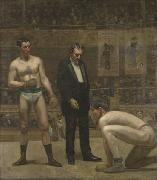 Thomas Eakins Taking the Count oil painting reproduction