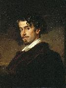 Valeriano Dominguez Becquer Bastida portrait of oil painting artist