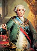 Vicente Lopez y Portana Portrait of Charles IV of Spain oil painting