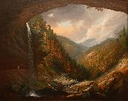 Wall, William Guy Cauterskill Falls on the Catskill Mountains oil painting artist