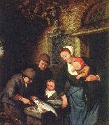 Adriaen van ostade Buying fish oil