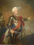 antoine pesne Portrait of Frederick William I of Prussia oil painting