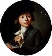 johann melchior wyrsch Soap Bubbles oil