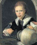 unknow artist The Boy with the Bird Germany oil painting reproduction