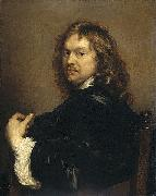 Adriaen Hanneman Self-portrait. oil painting