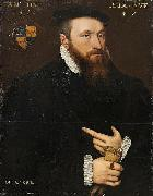 Anthonis Mor Portrait of a Gentleman oil painting