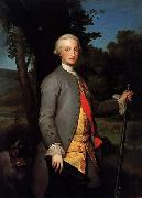 Anton Raphael Mengs Prince of Asturias, Future Charles IV of Spain oil