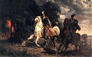 Artur Grottger The Escape of Henry of Valois from Poland. oil painting