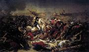 Baron Antoine-Jean Gros The Battle of Abukir oil
