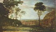 Claude Lorrain Ostermorgen oil painting on canvas