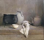Emil Carlsen Study in Grey oil painting artist