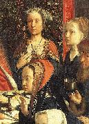 Gerard David The Marriage at Cana oil