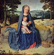 Gerard David The Rest on the Flight into Egypt oil