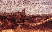 Hercules Seghers View of Brussels from the North-East oil painting artist