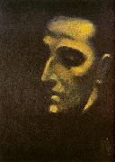 Ismael Nery Portrait of Murilo Mendes oil painting