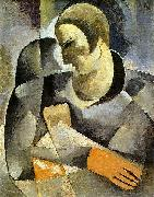 Ismael Nery Self-portrait oil painting